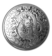 Somalia Somaliland Lunar Jahr des Drachen 2012 - 1/4 Oz 999 Silber Silbermünze