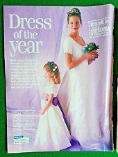 Sewing Pattern. Lady's Wedding Dress & Bridesmaid Dress. UK 10-18 Uncut.