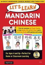 Let's Learn Mandarin Chinese Kit: 64 Basic Mandarin Chinese Words and Their Uses