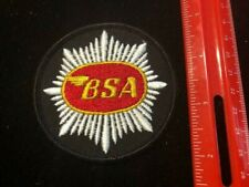 NEW BSA Motorcycles Patch  -  Additional patches ship FREE