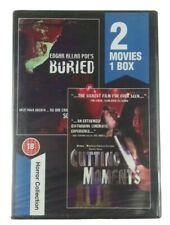 Buried Alive & Cutting Moments 2 Movies 1 Box Horror Collection DVD NEW