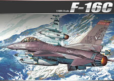 Academy Aircraft 1/48 Scale Plastic Model Kit F-16C Frying Razorbacks #12204