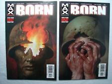 C 2429 MAX Comics 2003 BORN #3 and 4  M / NM Condition