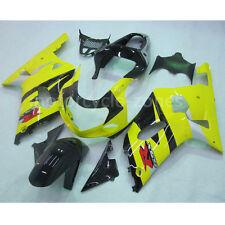 For 2001-2003 2002 Suzuki GSX-R 600 750 Yellow Fairing Injection Bodywork Kit