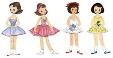 10 Year Collection of Betsy McCall Paper Dolls on Cd *1951 to 1961*