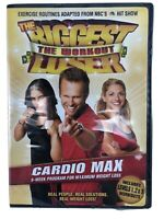 The Biggest Loser Workout Cardio Max (DVD, 2007) Exercise Levels 1 2 & 3 NEW