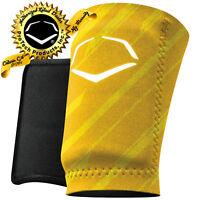 EvoShield Evo MLB Baseball Wrist Guard A150 Adult Yellow/Stripes SM, MD, LG, XL