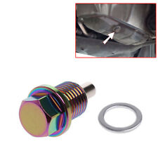 M14 x 1.5MM Colorful Magnetic Engine Oil Pan Drain Plug Nut  Bolt Crush Washer