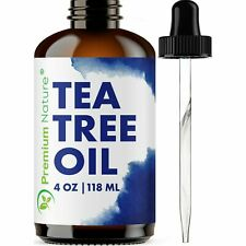 Tea Tree Oil 4oz Aromatherapy Relaxation Body & Skin Nail Fungus Acne Treatment