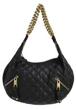 2a1c77c50112 Marc Jacobs Large Quilted Banana Black Goat Skin Leather Hobo Bag