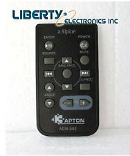 ALPINE UNIVERSAL CAR STEREO remote control replacement