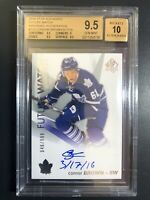 2016-17 SP Authentic Future Watch Connor Brown RC Inscribed Auto /999 BGS 9.5