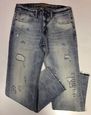 NWT【32 x 30】American Eagle Outfitters AEO Men's Slim Straight Destroy Jeans