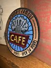 THE ATOMIC CAFE Coaster Inspired By Jock Lindsey Hanger Bar Embroidery Patch