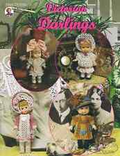"Crochet doll dress pattern ""Victorian Darlings"" Pdf Download"