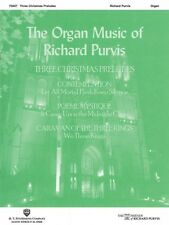 Three Christmas Preludes Sheet Music Organ H.T. Fitzsimons Co NEW 000000464