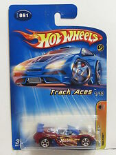 HOT WHEELS 2005 TRACK ACES - TRAK-TUNE #061 RED