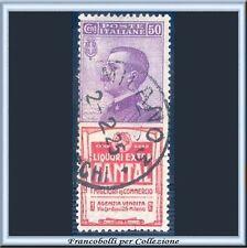 1924 Italia Regno Pubblicitari cent. 50 Tantal n. 18 Usato