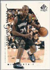 1999-2000 SP Authentic KEVIN GARNETT Sample # KG Near Mint promo