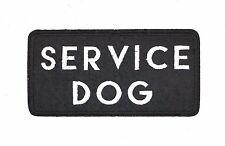 SERVICE DOG PATCH, SERVICE DOG VEST AND HARNESS APPLIQUE (SDBW-618)