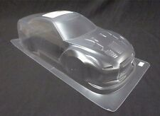 1/10 rc voiture 195mm lexan clear body shell Nissan GTR R35 wide-body