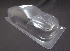 1/10 RC Car 195mm Lexan Clear Body Shell Nissan GTR R35 Wide-Body