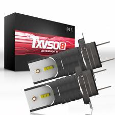 2PCS Car 110W 26000LM KIT H7 White 6000K LED Conversion Headlight Bulbs Lights