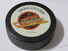 Vancouver Canucks Viceroy Puck FREE SHIPPING