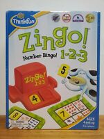 ThinkFun Zingo 1 2 3 Number Bingo Learning Game New