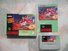 Jeu Super Nintendo / Snes Game Aladdin Complet CIB PAL FAH * original