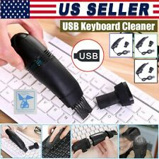 New Mini Computer Vacuum USB Keyboard Cleaner PC Laptop Brush Dust Cleaning Kit