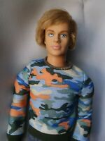 Barbie Ken Fashion Fever Era Boy Rooted Hair Retired Mold Articulated Doll