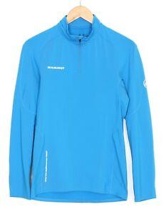 MAMMUT MTR 141 Thermo Long Sleeve Zip Neck Top Shirt Men Size S