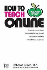 How To Teach Online (and Make 100k a Year)