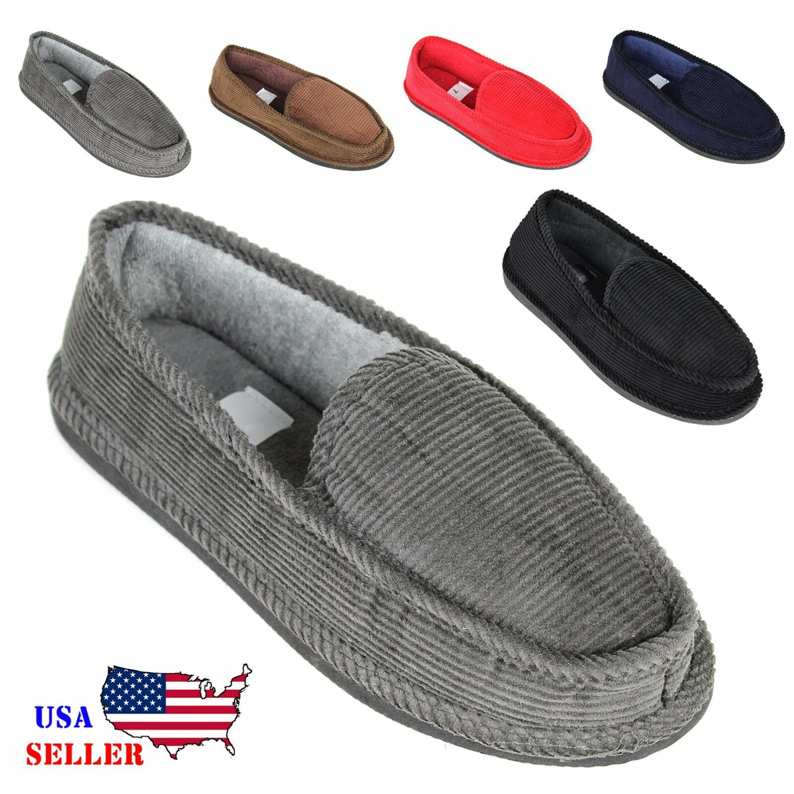 Hombre SPOT ON COMFORTABLE COSY SLIP ON NAVY NAVY ON SLIPPERS GS65128 Talla 7-12 253812