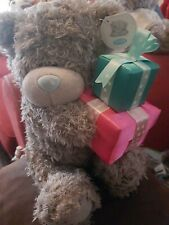 "Me To You Teddy Bear With Gifts Plush Stuffed Animal Toy Gift Kids 10"" GOOD"