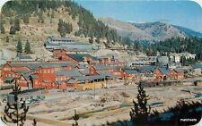 1961 Coeur d'Alene Idaho Morning Mine Hall Dexter postcard 3544