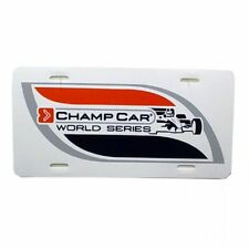 New/Unused CHAMP CAR WORLD SERIES LICENSE PLATE Indianapolis 500  FREE SHIPPING!