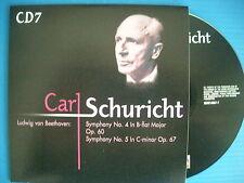 CD CARL SCHURICHT ANTON BRUCKNER SYMPHONY N° 7 IN E-MAIOR