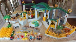 Playmobil Retired 3240 Zoo Animal Wildlife Park Set Vintage Nice!