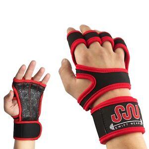 Fitness Gloves Weight Lifting Gym Workout Training Wrist Wrap Strap Men / Women