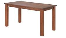 BRAND NEW RRP £179 Madison Dining Table 120cm - Walnut Stain