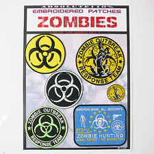 ZOMBIE Outbreak Response Team Patches - Iron-On Patch Mega Set #29 - FREE POST