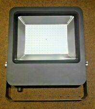 Blooma Duncan Powder coated Black Mains Floodlights 150W