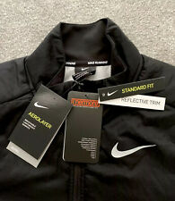 NEW Mens Nike Aerolayer Thermore FZ Jacket Top Running Casual Ltd Edtn Black