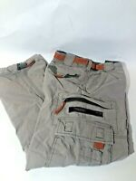 Vintage 90s Abercrombie Paratrooper Belted Cargo Pants Youth Large Baggy Loose