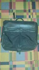 Coach 5492 Twill 4 Suit Nylon / Leather Garment Bag - Black