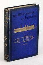 1878 THE WAR-SHIPS OF EUROPE CHIEF ENGINEER KING NAVAL ARCHITECTURE IRONCLADS