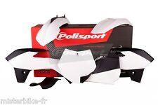 Kit plastiques Coque Polisport  KTM SX85  2013-2015  Couleur Blanc