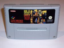 NINJA GAIDEN TRILOGY - PAL IN ENGLISH GAME - SUPER NINTENDO SNES - 1 2 3
